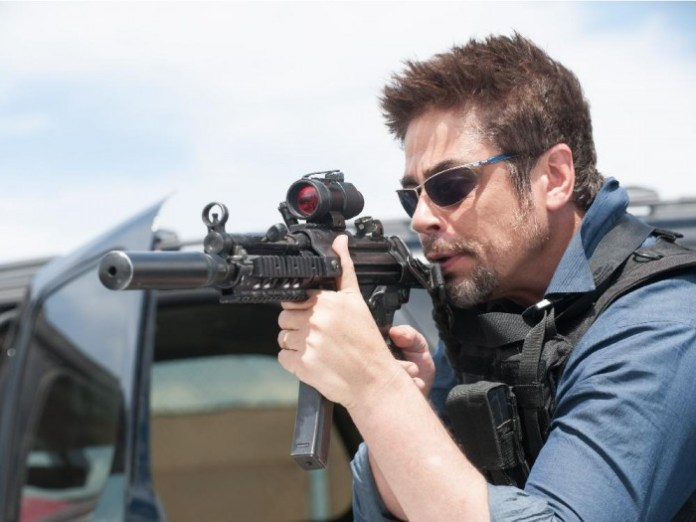A scene from Sicario, a film by Denis  Villeneuve set for release in September 2015. It will screen in competition at the 2015 Cannes Film Festival May 13-24. Image courtesy of Seville. S_D037_09788.NEF