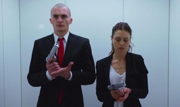 Rupert Friend  Hannah Ware in Hitman: Agent 47