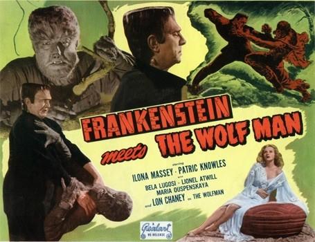 Frankenstein Meets The Wolf Man.
