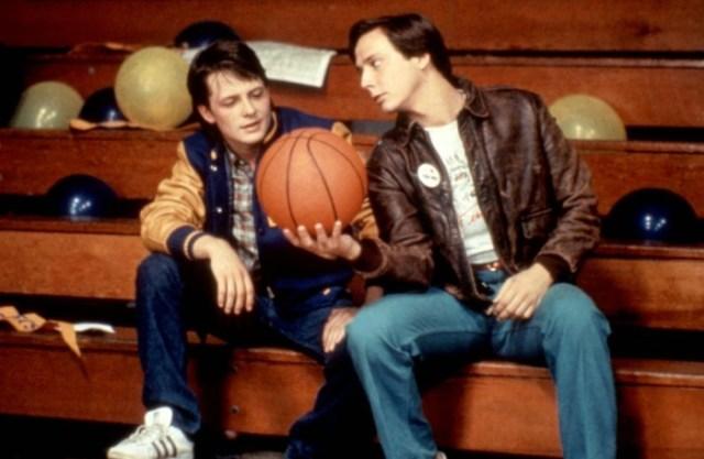TEEN WOLF, Michael J. Fox, Jerry Levine, 1985, (c)Atlantic Releasing
