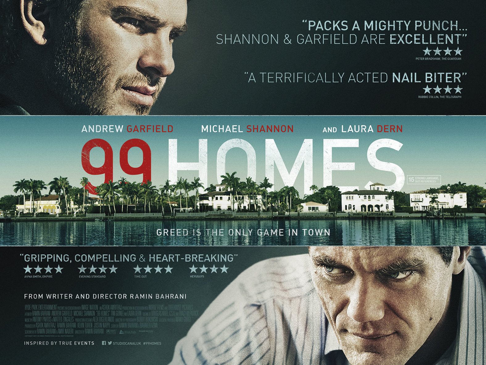 99 Homes Trailer and Poster