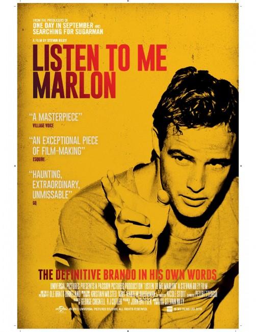 Listen to Me Marlon UK Poster