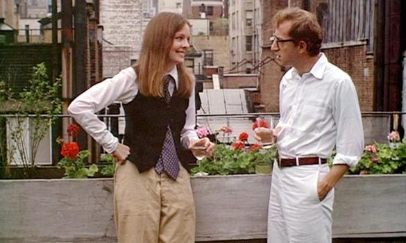 Diane Keaton and Woody Allen