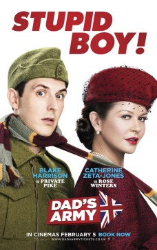 Harrison and Zeta Jones_DadsArmy