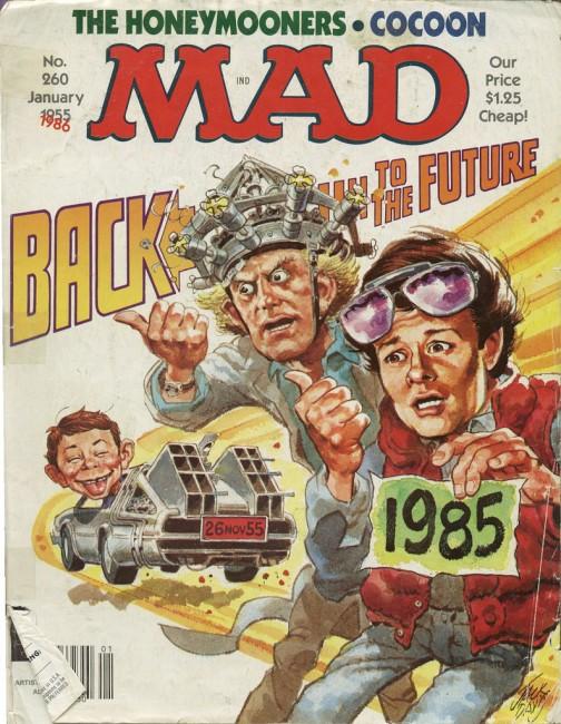 mad magazine bttf