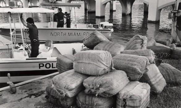 Marijuana confiscation, July 8, 1987.