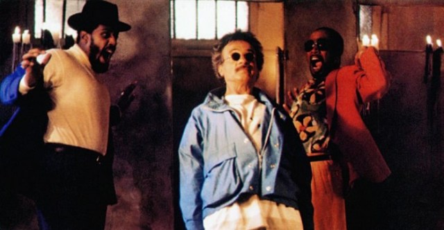 WEEKEND AT BERNIE'S II, from left: Steve James, Terry Kiser, Tom Wright, 1993, © TriStar