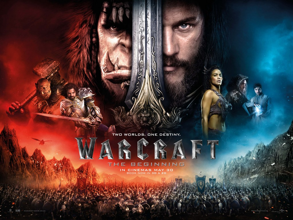Warcraft: The Beginning Character Posters