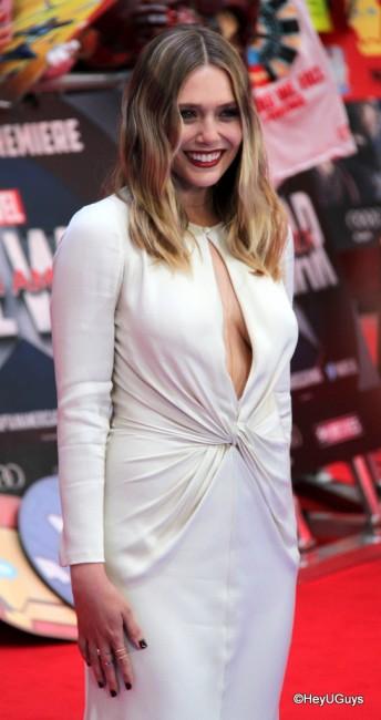 Elizabeth Olsen at the UK Premiere of Captain America: Civil War