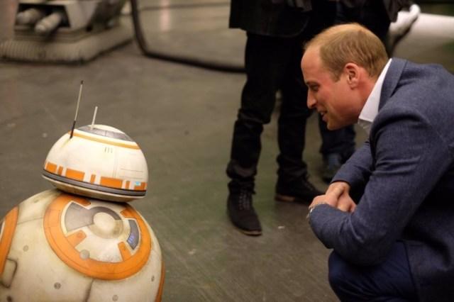 Star Wars Episode VIII Royal set visit 6