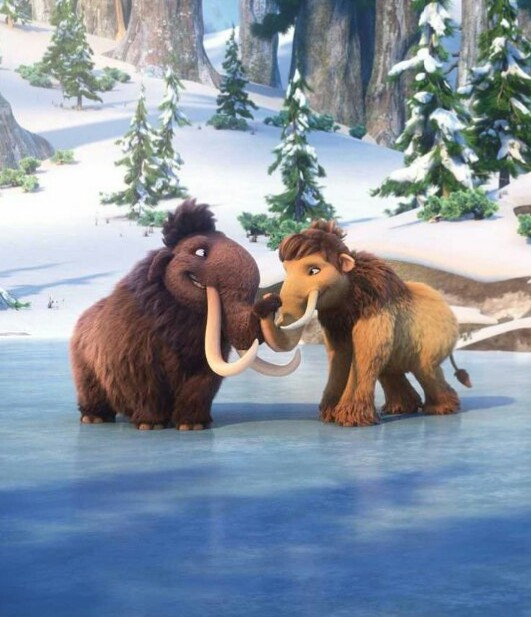 Ice Age Collision Course Julian_and_Peaches_on_the_ice