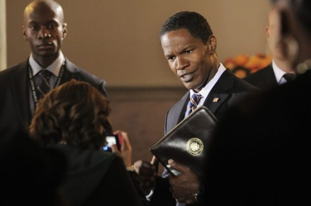 "Jamie Foxx stars in Columbia Pictures' ""White House Down,"" also starring Channing Tatum."