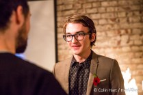Isaac Hempstead Wright attends the Game of Thrones Art Gallery - London