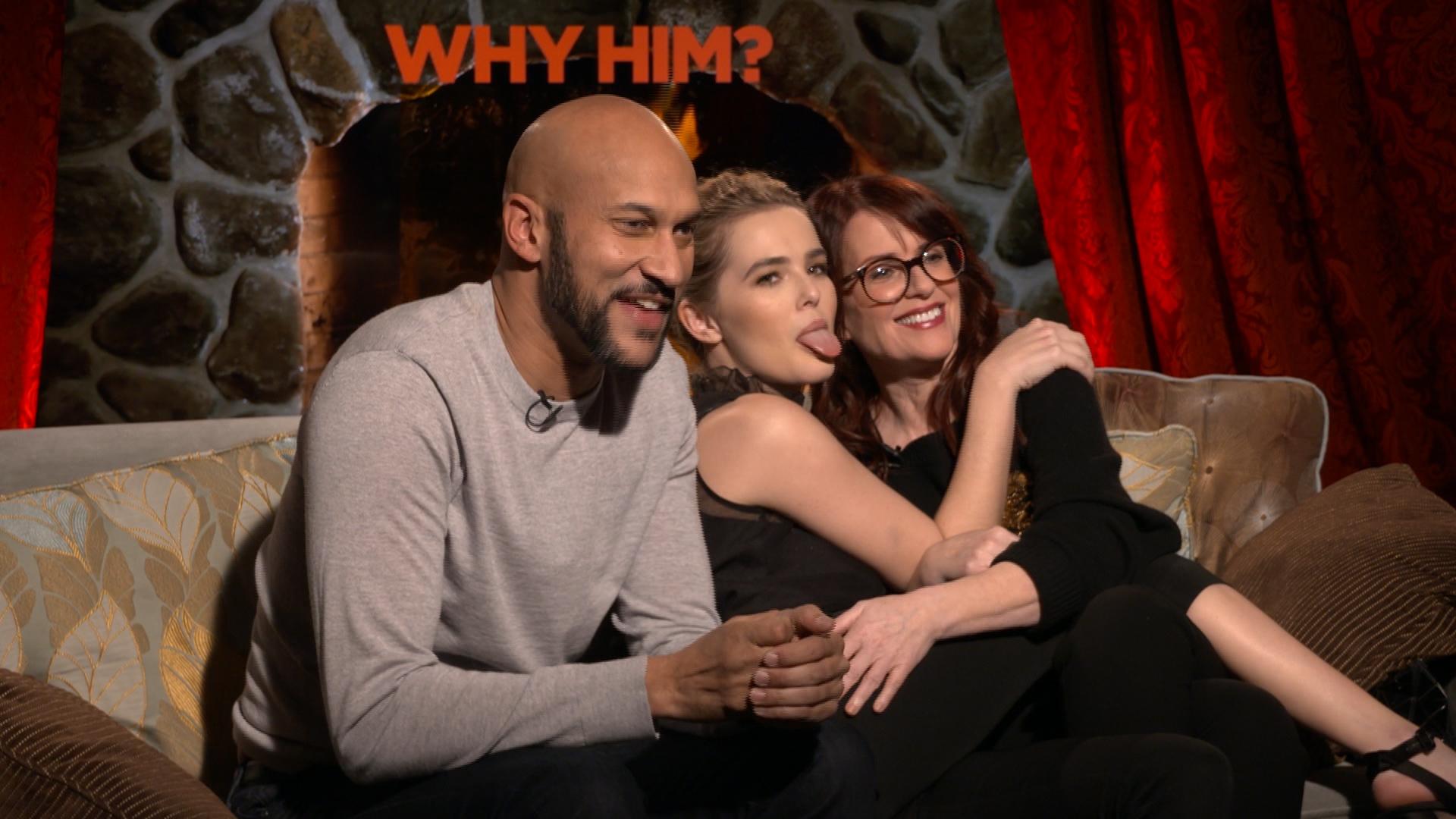 Megan Mullally, Zoey Deutch & Keegan Michael Key Why Him