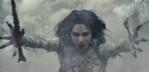 Sofia Boutella in The Mummy uit Dark Universe