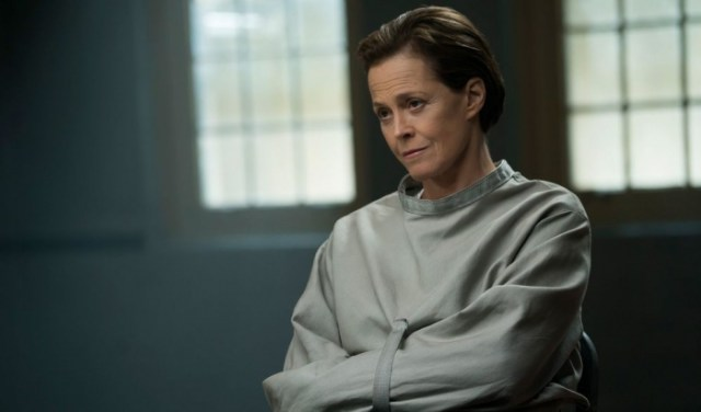 Sigourney Weaver in The Assignment