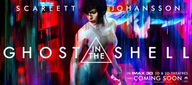 Ghost in the Shell Movie Banner