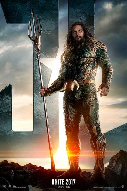 Aquaman Justice League Poster
