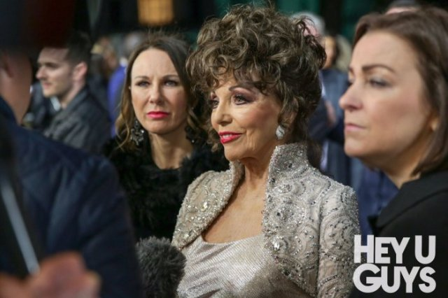 Dame Joan Collins The Time of Their Lives Premiere