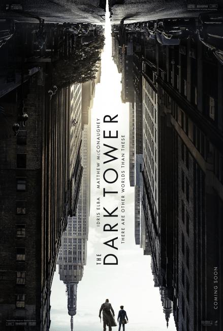 The Dark Tower Poster - Idris Elba and Matthew McConaughey