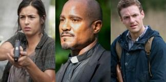 The Walking Dead - Ross Marquand, Seth Gilliam & Alanna Masterson