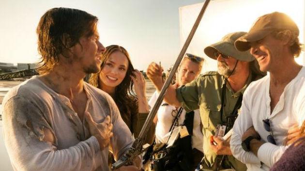 Mark Wahlberg, Laura Haddock & Michael Bay - Transformers: The Last Knight