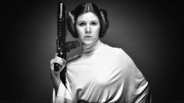 Carrie Fisher - Princess Leia, Star Wars