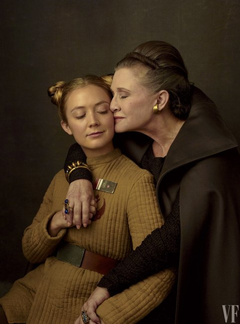 Star Wars The Last Jedi carrie fisher billie lourd