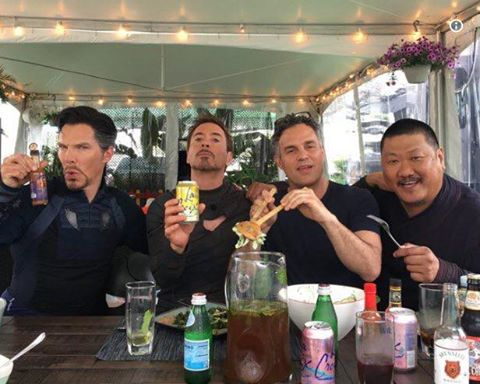 avengers behind the scenes