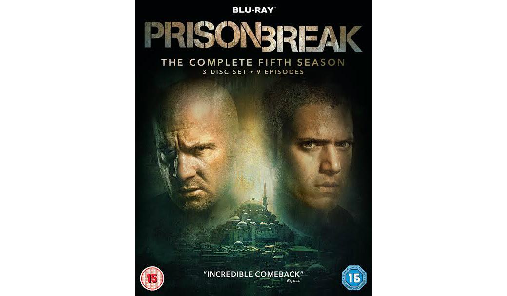 Win Prison Break Season 5 On Dvd Heyuguys