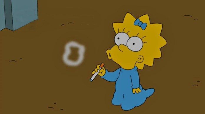 Maggie-Simpson-Vaping