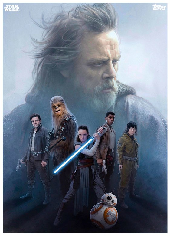Star Wars The Last Jedi Topps Cards (2)