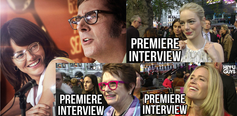 Battle of the Sexes Premiere Interviews