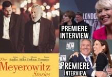 The Meyerowitz Stories Premiere Interviews