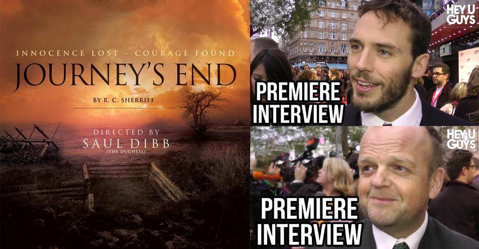 journey's end premiere interviews