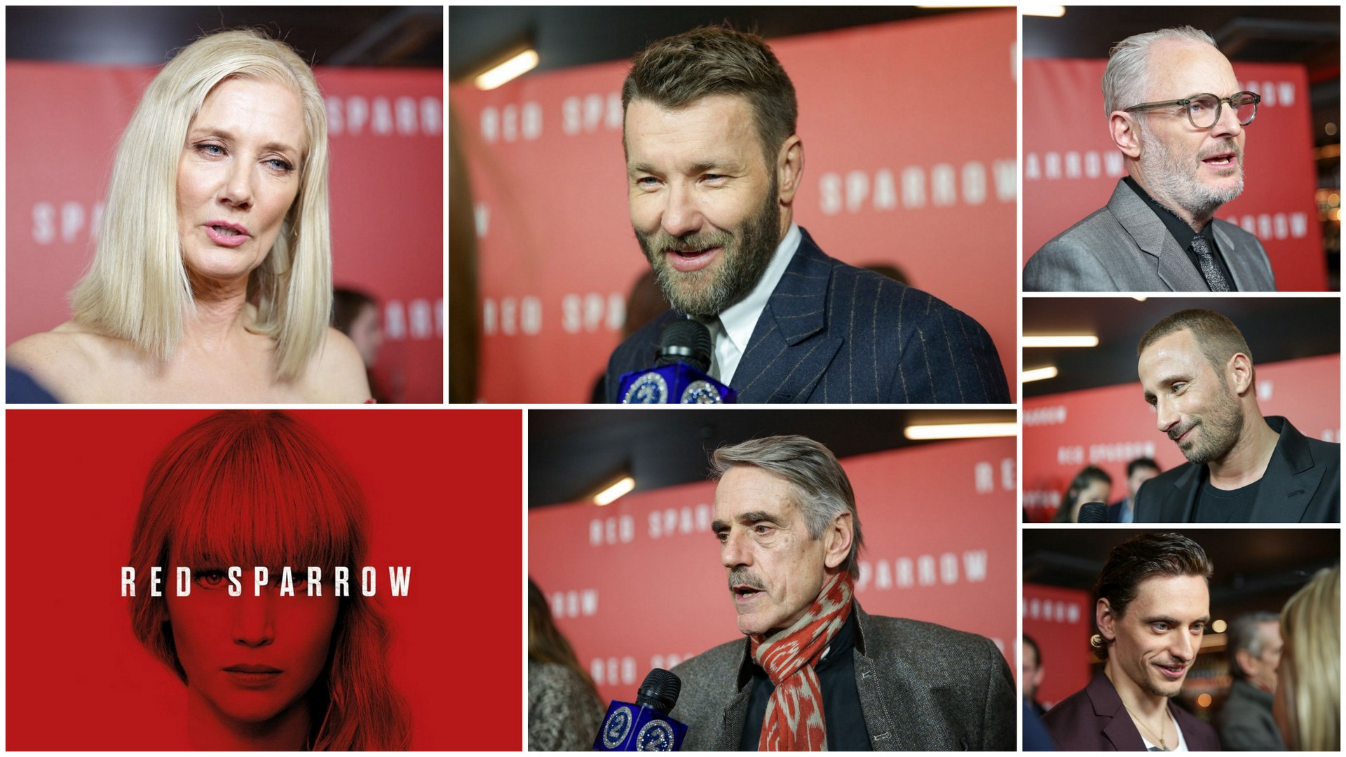 Red Sparrow Premiere