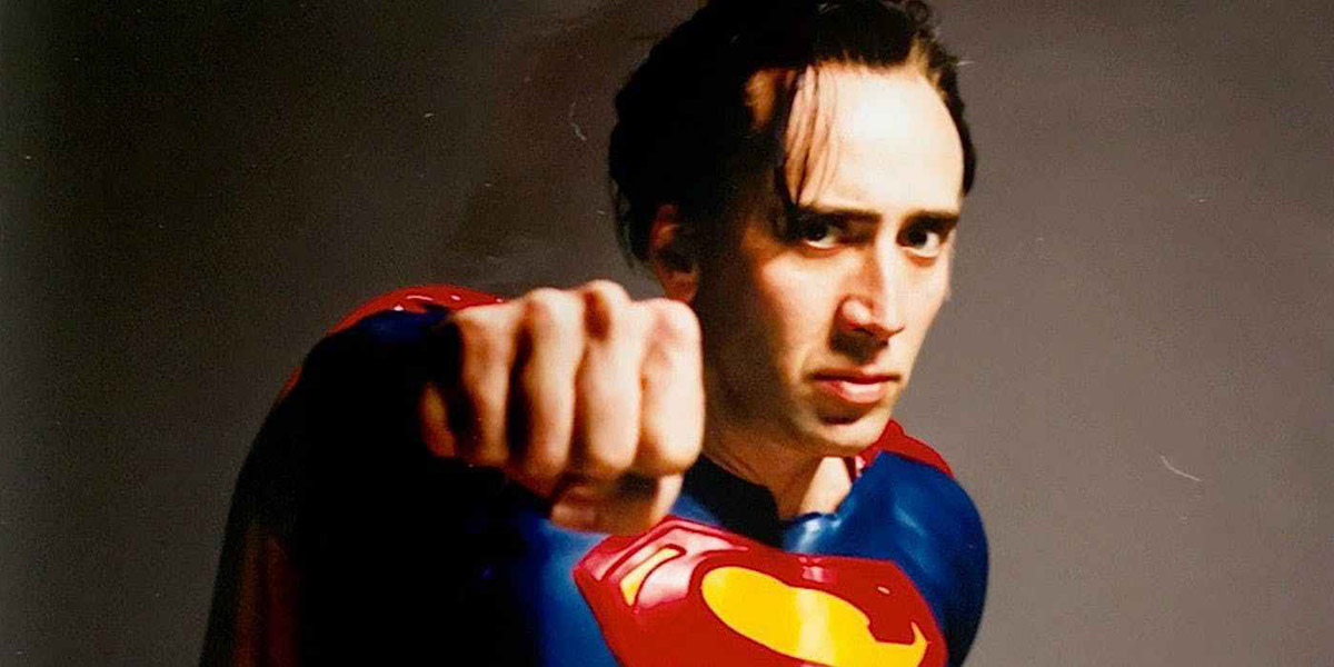 NICOLAS CAGE Finally Gets To Play SUPERMAN