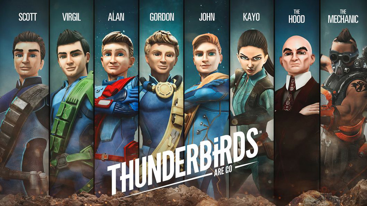 Image result for thunderbirds are go