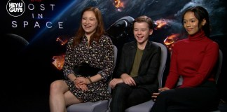 Taylor Russell, Mina Sundwall & Max Jenkins Lost in Space