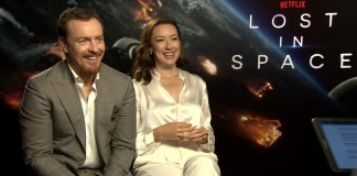 Toby Stephens and Molly Parker Lost in Space