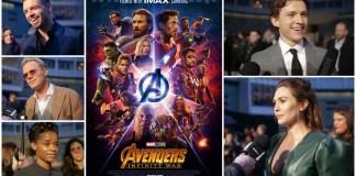 avengers infinity war premiere