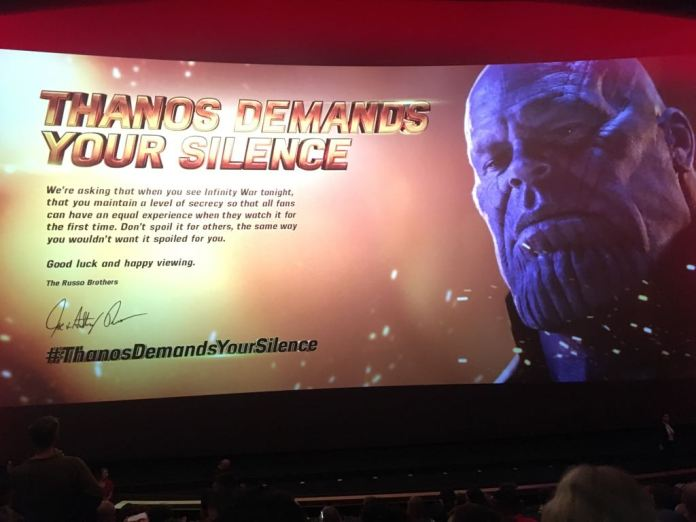 Avengers thanos silence