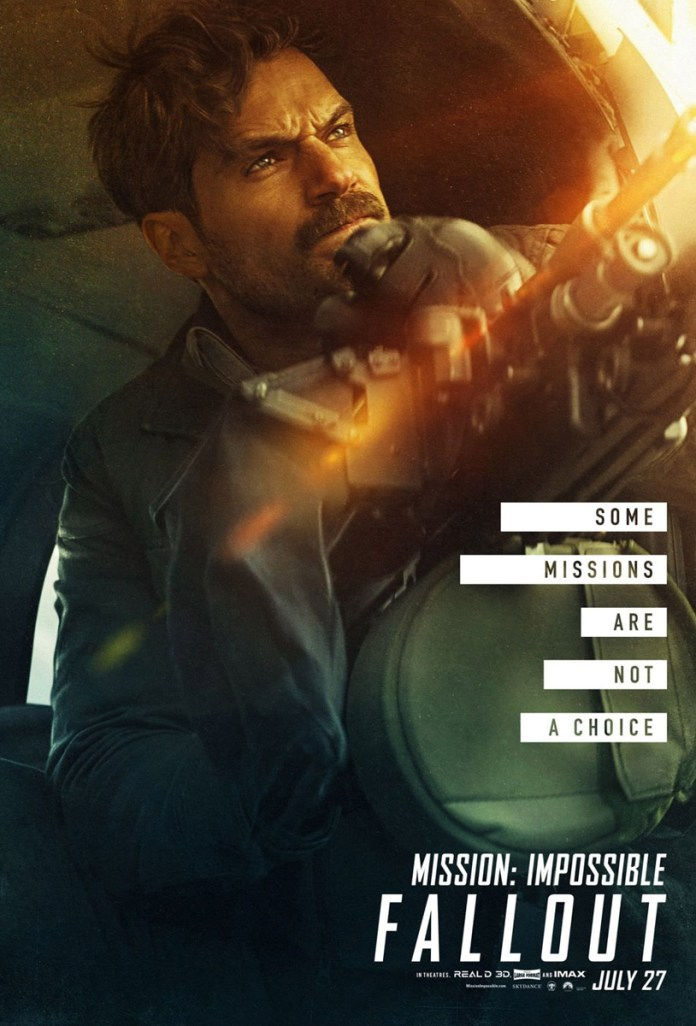 Mission Impossible: Fallout character poster