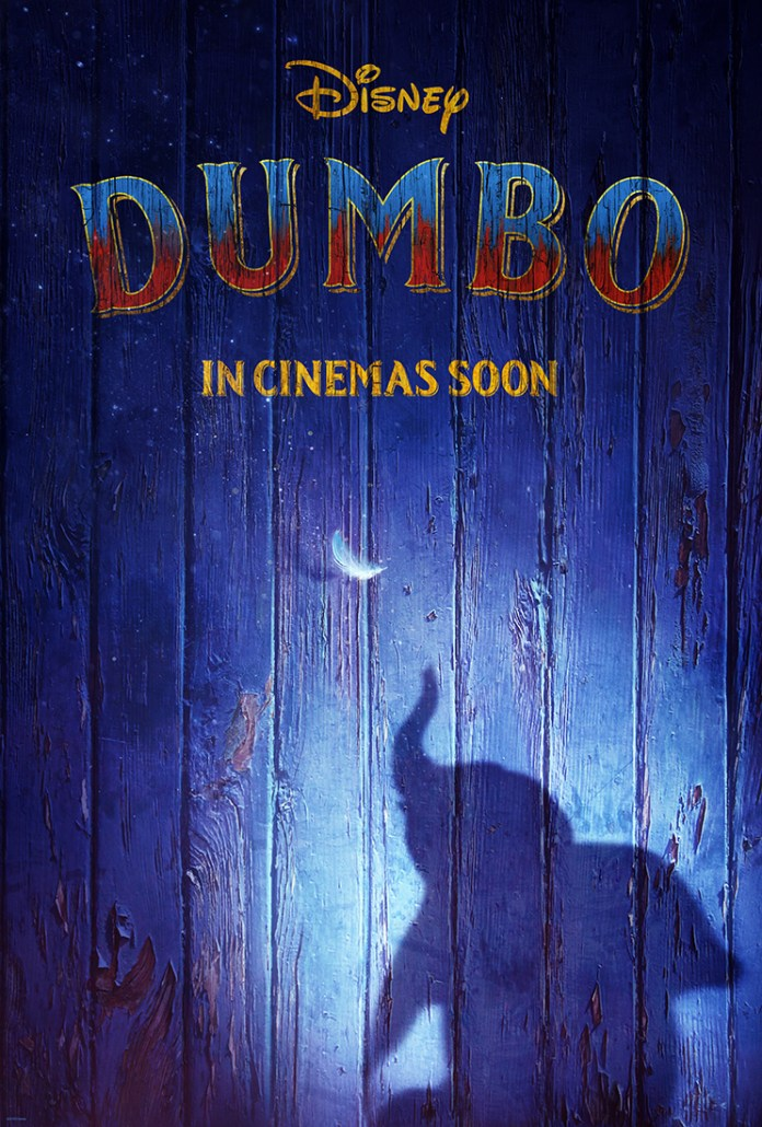 Dumbo Movie Poster 2019 - Tim Burton