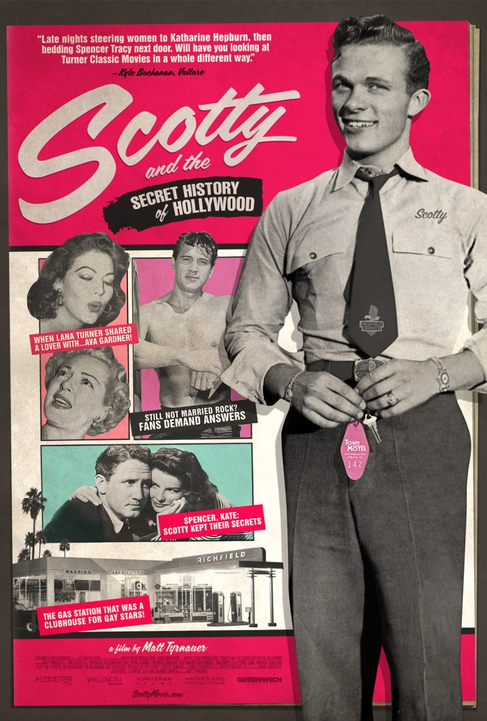 'Scotty and the Secret History of Hollywood' Poster. Courtesy of Greenwich Entertainment.
