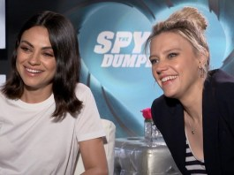 the spy who dumped me cast interview