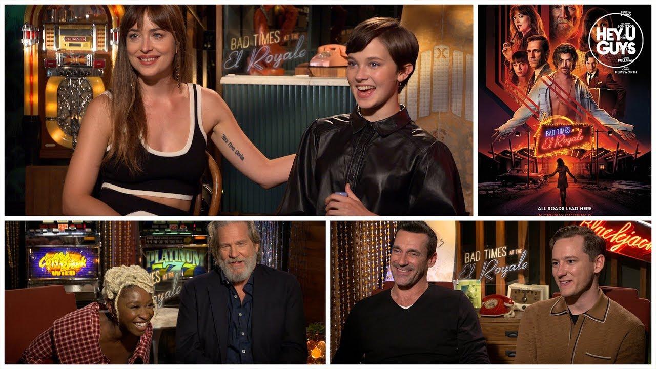 Bad Times at the El Royale, Chris Hemsworth, Dakota Johnson, Drew Goddard, jeff bridges