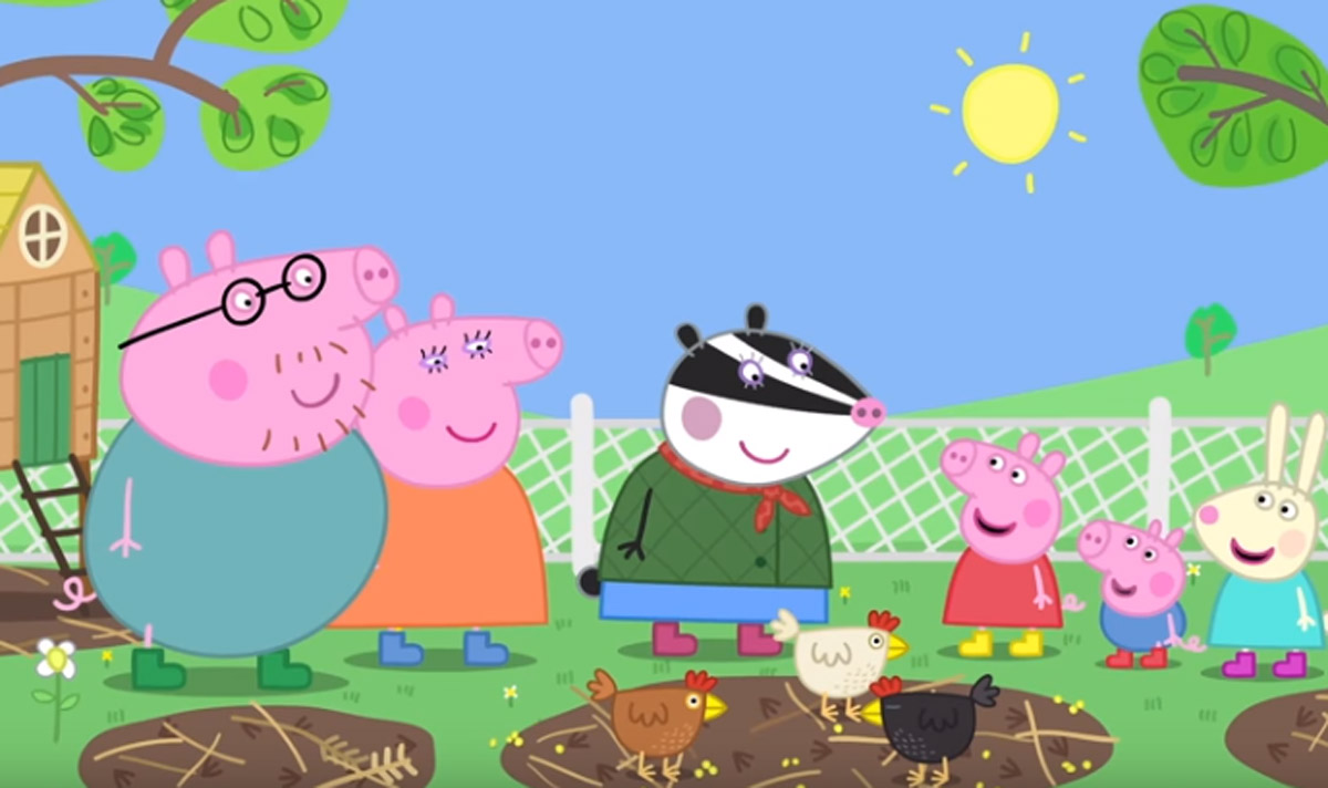 Peppa Pig And Friends Attend Their First Music Festival In Trailer