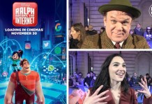 wreck-it ralph 2 ralph breaks the internet uk premiere