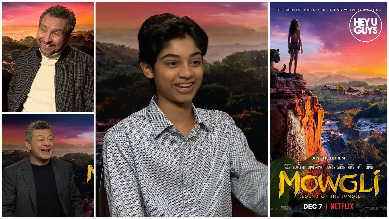 mowgli cast interviews